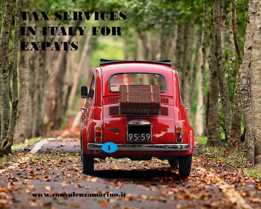 Tax service for expats